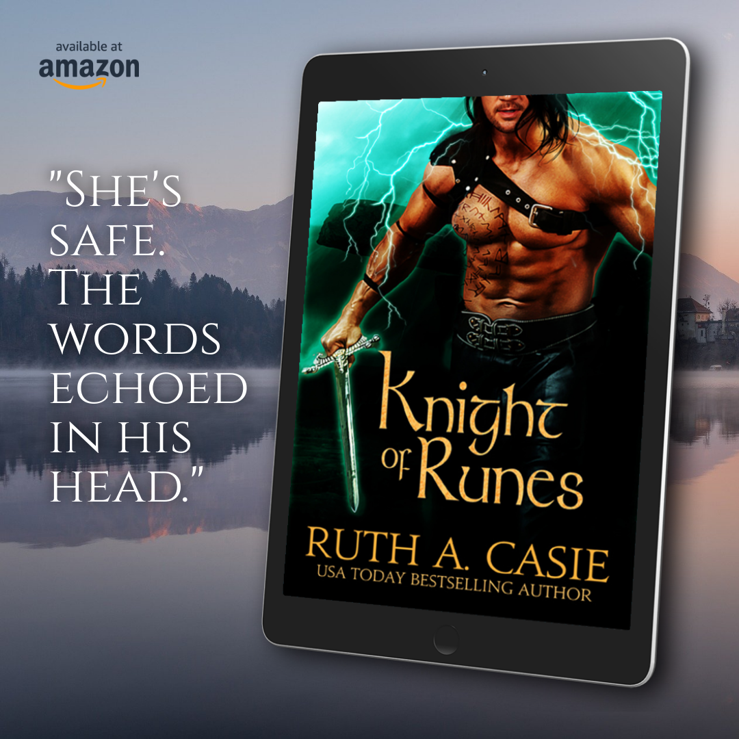 Spotlight and Giveaway: Knight of Runes by Ruth A. Casie