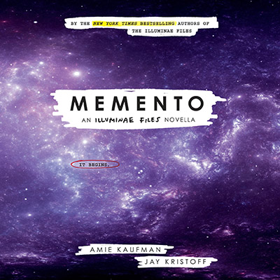 Young Adult Audio Delight Review: Memento by Amie Kaufman and Jay Kristoff