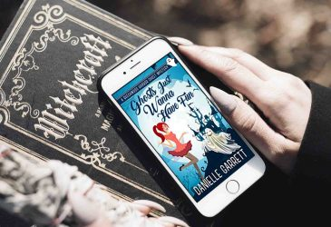 Audio Delight Review: Ghosts Just Wanna Have Fun by Danielle Garrett
